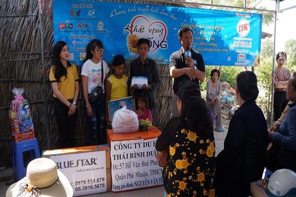Chương trình từ thiện hàng tuần của Công ty đợt thứ 228