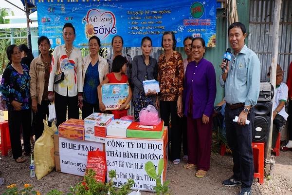 Chương trình từ thiện hàng tuần của Công ty đợt thứ 233