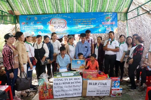Chương trình từ thiện hàng tuần của Công ty đợt thứ 266
