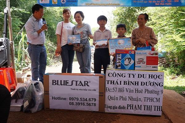 Chương trình từ thiện hàng tuần của Công ty đợt thứ 290