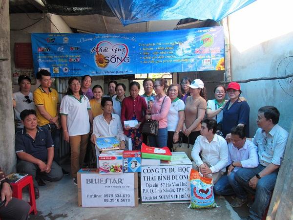 Chương trình từ thiện hàng tuần của Công ty đợt thứ 342