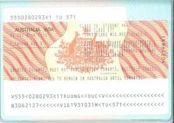 Bạn T.D.V chia sẻ cảm nhận khi nhận được Visa du học Úc