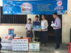 Chương trình từ thiện hàng tuần của Công ty đợt thứ 209
