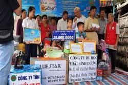 Chương trình từ thiện hàng tuần của Công ty đợt thứ 246