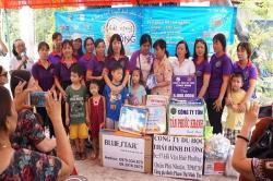 Chương trình từ thiện hàng tuần của Công ty đợt thứ 248