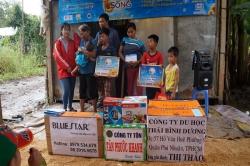 Chương trình từ thiện hàng tuần của Công ty đợt thứ 249