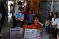 Chương trình từ thiện hàng tuần của Công ty đợt thứ 254
