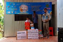 Chương trình từ thiện hàng tuần của Công ty đợt thứ 255