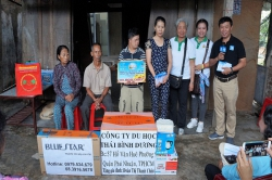 Chương trình từ thiện hàng tuần của Công ty đợt thứ 260