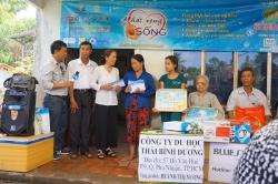 Chương trình từ thiện hàng tuần của Công ty đợt thứ 282