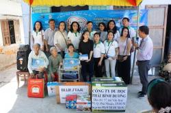 Chương trình từ thiện hàng tuần của Công ty đợt thứ 295