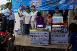 Chương trình từ thiện hàng tuần của Công ty đợt thứ 297