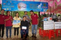Chương trình từ thiện hàng tuần của Công ty đợt thứ 299