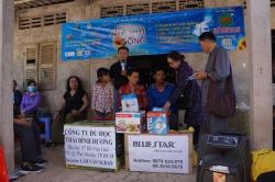 Chương trình từ thiện hàng tuần của Công ty đợt thứ 327