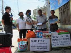 Chương trình từ thiện hàng tuần của Công ty đợt thứ 348