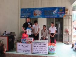 Chương trình từ thiện hàng tuần của Công ty đợt thứ 350