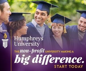 Đại Học Humphreys Cơ hội nhận học bổng MBA (50% học phí).